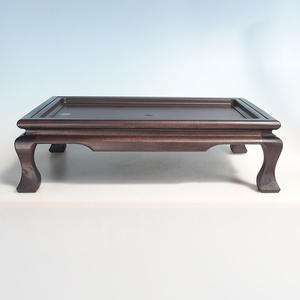 Wooden bonsai table brown 50 x 35 x 12 cm