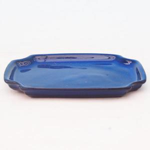 Bonsai tray H 01 - 11,5 x 8,5 x 1 cm, white - 11.5 x 8.5 x 1 cm