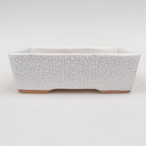 Ceramic bonsai bowl 12 x 9 x 3,5 cm, crayfish color