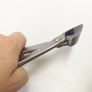 Pliers oblique concave 205 mm - stainless steel casing + FREE