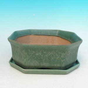 bowl and tray of water H 13