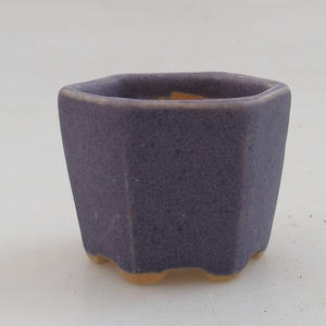 Mini bonsai bowl 4,5 x 4,5 x 3,5 cm, color violet