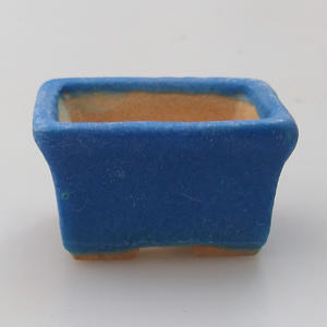 Mini bonsai bowl 4,5 x 3,5 x 2,5 cm, color blue