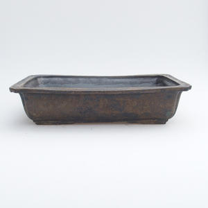 Ceramic bonsai bowl 2, quality - fired in a gas oven 1240 ° C