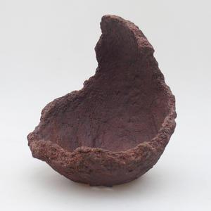 Ceramic Shell 15 x 15 x 21 cm, gray color