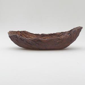 Ceramic Shell 25 x 13,5 x 7,5 cm, gray color