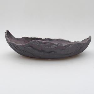 Ceramic Shell 23 x 15 x 7 cm, metal color