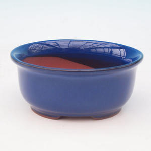 Bonsai ceramic bowl H 30, blue