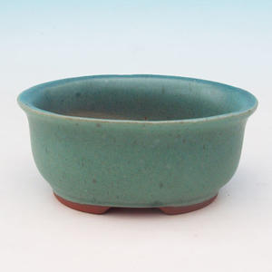 Bonsai ceramic bowl H 30, green