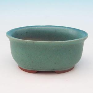 Bonsai ceramic bowl H 30, green