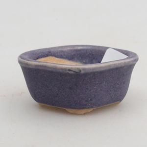 Mini bonsai bowl 4,5 x 4 x 2 cm, color violet
