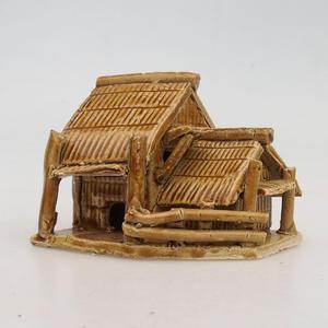Ceramic figurine - Chatrč