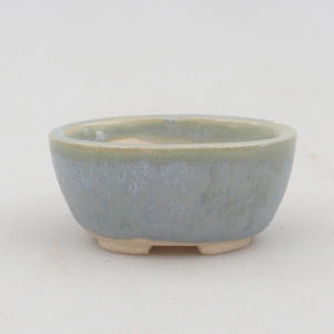 Mini bonsai bowl 4,5 x 3,5 x 2 cm, color blue