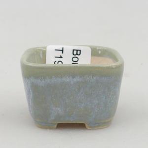 Mini bonsai bowl 3,5 x 3,5 x 2,5 cm, color blue