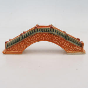 Ceramic figurine - a bridge