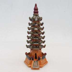 Ceramic figurine - pagoda