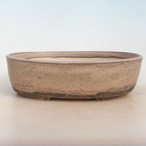 Bonsai miska 29 x 23 x 8,5 cm, barva šedobéžová