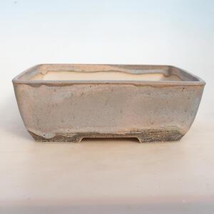 Bonsai miska 31 x 23,5 x 10,5 cm, barva béžovošedá