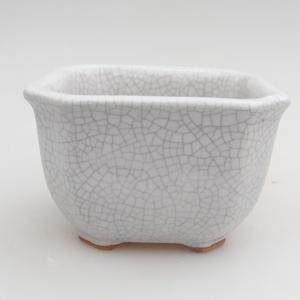 Ceramic bonsai bowl 10 x 10 x 6,5 cm, crayfish color