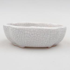 Ceramic bonsai bowl 10 x 8,5 x 3 cm, crayfish color