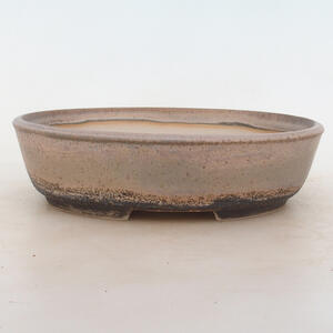 Bonsai miska 22 x 17 x 6 cm, barva šedobéžová