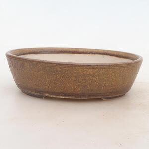 Bonsai miska 19 x 15 x 5 cm, barva hnědá