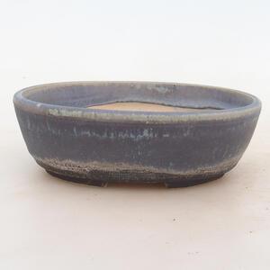 Bonsai miska 18 x 13 x 6 cm, barva modrá