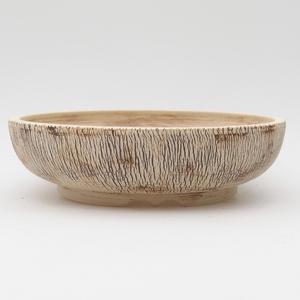 Ceramic bonsai bowl - fired in a gas oven 1240 ° C