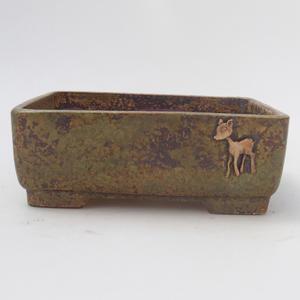 Ceramic Bonsai Bowl - Grain