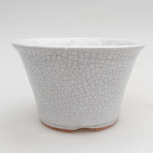 Ceramic bonsai bowl 11 x 11 x 6,5 cm, crayfish color