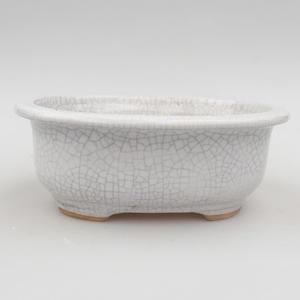 Ceramic bonsai bowl 15 x 12 x 5,5 cm, crayfish color