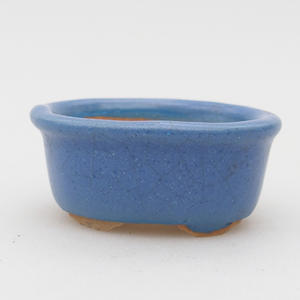 Mini bonsai bowl 4,5 x 3 x 2 cm, color blue