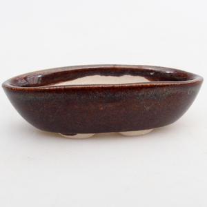 Mini bonsai bowl 7 x 3,5 x 2 cm, color brown