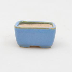 Mini bonsai bowl 4,5 x 3 x 2,5 cm, color blue