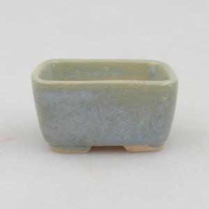 Mini bonsai bowl 4,5 x 3 x 2 cm, color blue