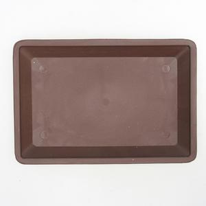 Bonsai podmiska plastic PP-2 - brown