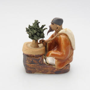 Ceramic figurine - Bonsajista, C