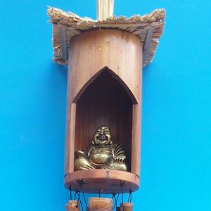Bamboo wind chimes Budha 120 cm