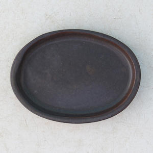 Bonsai tray of water H 04, black matt