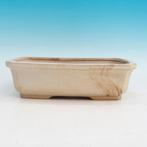 Bonsai ceramic bowl H 07, beige
