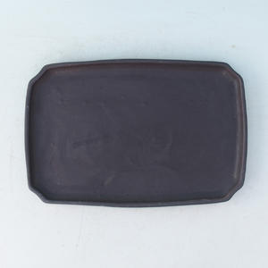 Bonsai tray of water H 07p, black matt