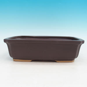 Ceramic bonsai bowl H 07 - 30 x 21,5 x 8,5 cm