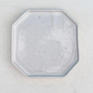 Bonsai tray of water H 14, white