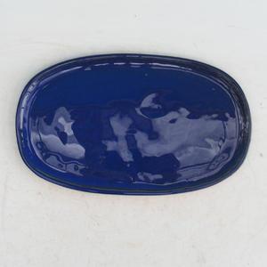 Bonsai tray of water H 15, blue