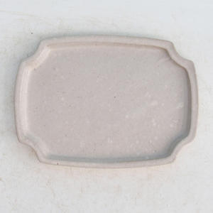 Bonsai water tray H 17 - 14 x 10 x 1 cm, beige - 14 x 10 x 1 cm