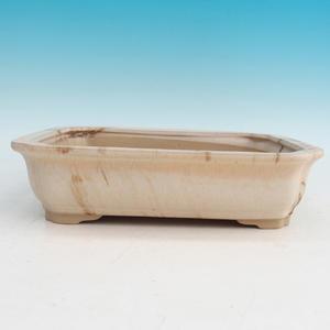Bonsai ceramic bowl H 20, beige