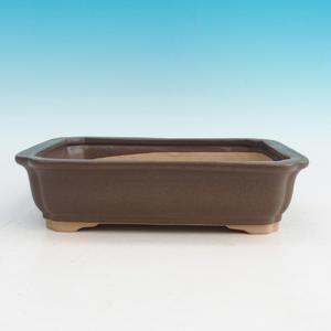 Bonsai ceramic bowl H 20, Brown