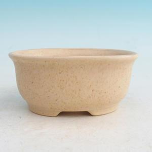 Bonsai ceramic bowl H 30, beige