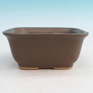 Bonsai ceramic bowl H 36, Brown