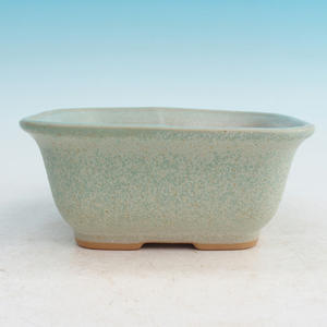Bonsai ceramic bowl H 36, green